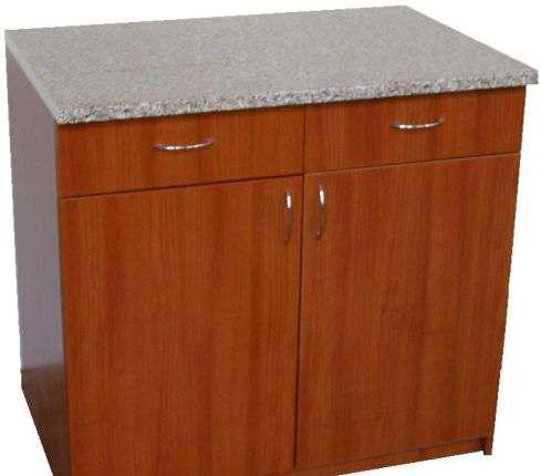 Стол тумба с ящиками для кухни