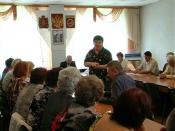 Ветераны Назарово обсудили тарифы на холодную воду