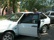 В Назарово произошло нападение на женщину-таксиста
