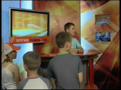 Медиа-холдинг «Пирамида» принял юных гостей