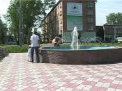 В Назарово пытались испортить фонтан