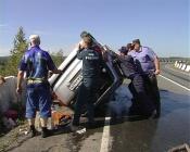 Семья, ехавшая на озёра, попала в ДТП в Назарово