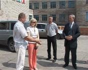 Перед уходом в отпуск глава Назарово совершил рабочую поездку по строительным  объектам