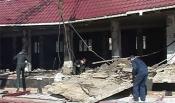 В Назарово устраняют последствия обрушения магазина
