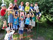 Спортивно-игровая программа для детей «Зарница»
