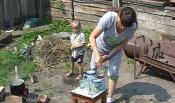 Многодетная семья из Назарово на сутки осталась без электричества