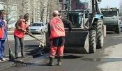 Назаровцы жалуются на дорожную пыль