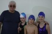Назаровские пловцы получили спортивные разряды