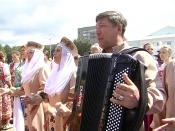 В городе Назарово побывали иностранные гости