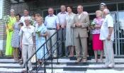 Две назаровские семьи получили медаль за крепость союза