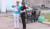 В город Назарово приехали первые семьи беженцев из Украины