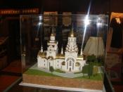 Назаровцы смогут увидеть макет будущей церкви