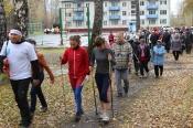 Всемирный день ходьбы заинтересовал около 140 назаровцев