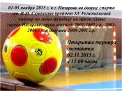 XV Региональный турнир по мини-футболу