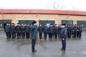 Назаровские полицейские утеплились