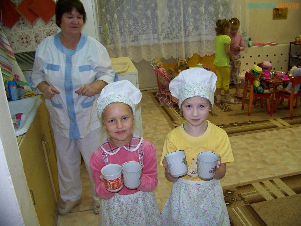 Беременная няня в детском саду 65