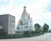 Храм в поселке Степной начали украшать фресками