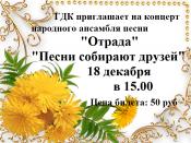 """Концерт ансамбля """"Отрада"""" (0+)"""
