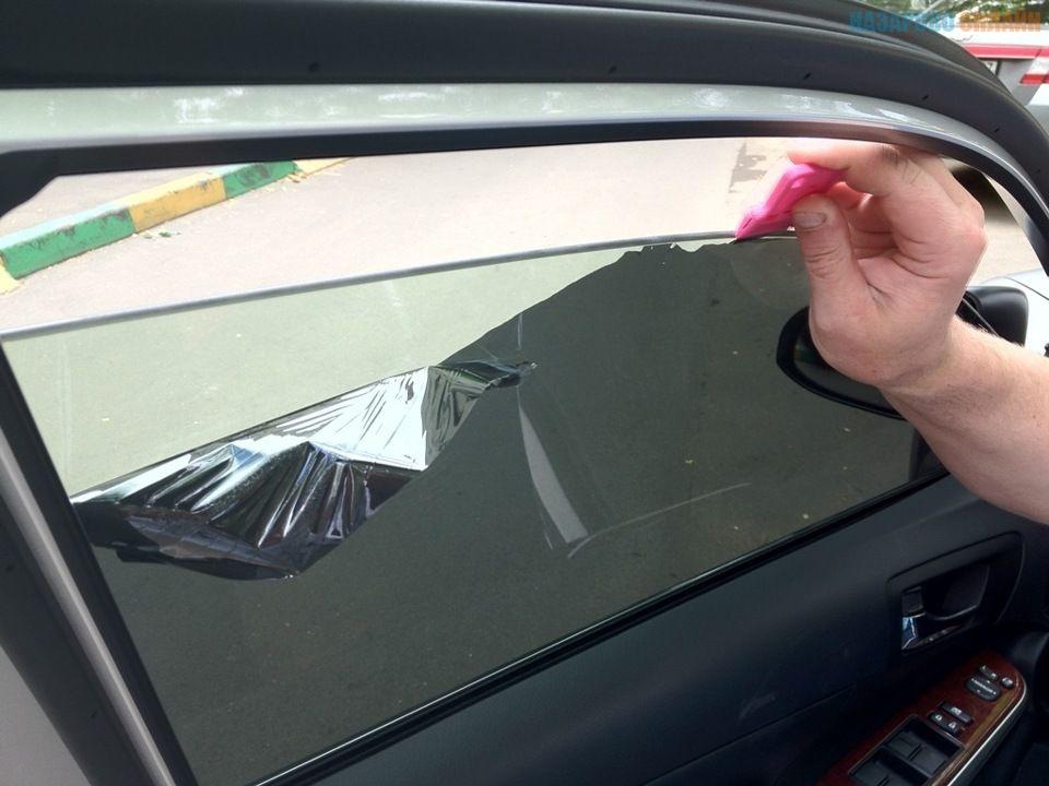 Тонировки стекол в домашних условиях