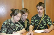 Назаровские школьники проверяли готовность к гражданской обороне