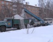 Город Назарово получил целевой кредит на вывоз снега