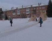 В городе Назарово готовятся демонтировать горки