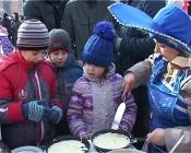 Назаровцы проводили зиму и обиделись на организаторов гуляний