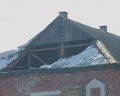 На детском саду «Теремок» вновь обрушилась крыша