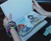 Назаровский подросток создает мультфильмы