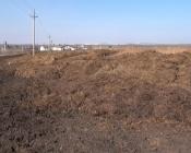 К святому источнику в Назаровском районе пробраться можно только по жиже коровьего навоза