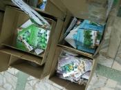 Тысячи пакетов семян реализуют с нарушениями