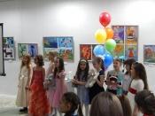 Юные художники приглашают на выставку своих работ