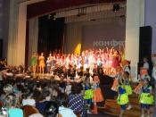 Отчётный концерт образцового ансамбля эстрадно-спортивного танца «Конфетти»
