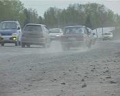 Назаровские водители не будут передвигаться по обочине