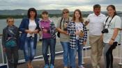 Дети из Назаровского района совершили прогулку на теплоходе