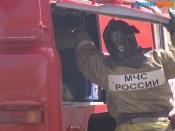 В Назаровском районе во второй раз подожгли торговый павильон