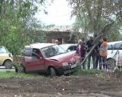 Первое ДТП у нового лежачего полицейского произошло в городе Назарово
