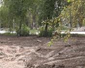 Мусор от снесенных бараков закопали в землю