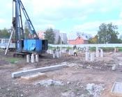 Физкультурно-спортивный центр в нашем городе строят с опережением сроков