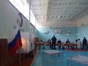 Выборы идут в городе довольно активно и спокойно