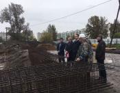 Город Назарово посетил министр спорта Красноярского края