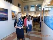 В Городском Дворце культуры состоялось торжественное открытие выставки «Первозданная Россия