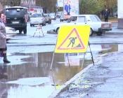Бордюры на центральной площади города Назарово установят заново