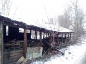 Аварийные сараи в центре города Назарово пока останутся на месте