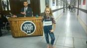 Юная жительница города Назарово показала свой талант в Москве