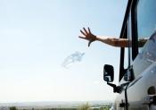 За выброшенный в окно автомобиля окурок могут наказать