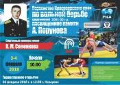 Первенство Красноярского края по вольной борьбе (0+)