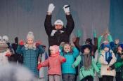 Боксер Николай Валуев провел зарядку с угольщиками СУЭК