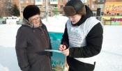 Молодежь организовала пикеты для общения с населением