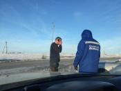 Судебный пристав из Красноярска задержал пьяного водителя на трассе Назаровского района